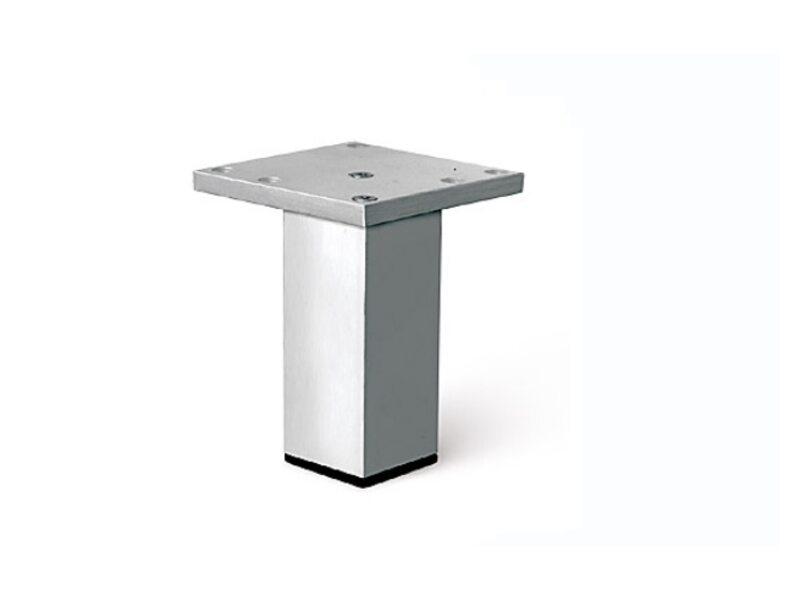 Ножка для кухонных столов D740 H-100mm алюминий