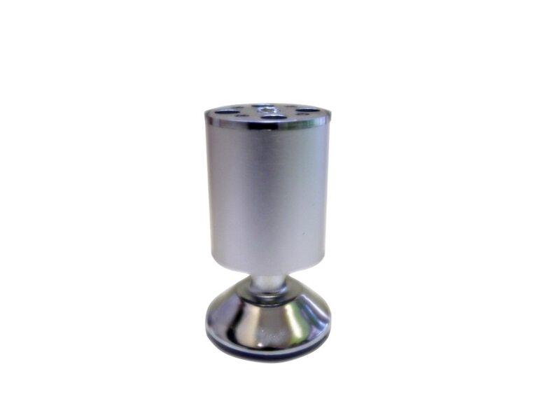 Ножка для кухонных столов D763 H-100mm хром