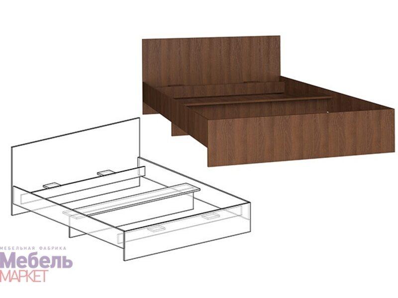 Кровать Светлана прямая спинка 800 (б\м) Sale