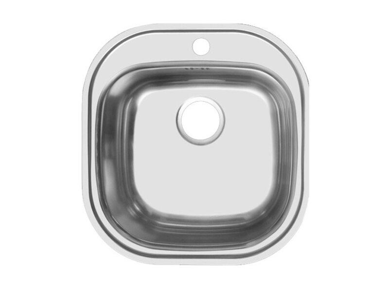 Врезная квадратная мойка 360 мм
