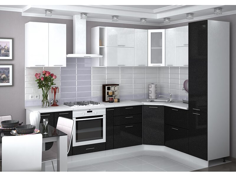 Кухня Валерия-М длина 2.9 метра, ширина 1.9 метра