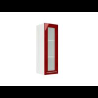 Навесной шкаф со стеклом на 300 мм
