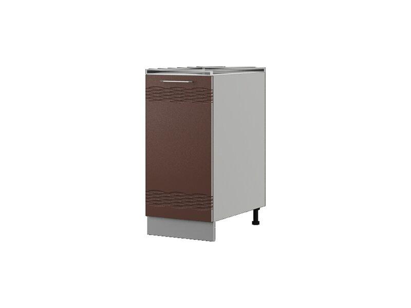 Шкаф напольный 48x82 см — кухня Мокко