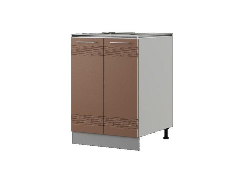 Шкаф напольный 60x82 см — кухня Мокко