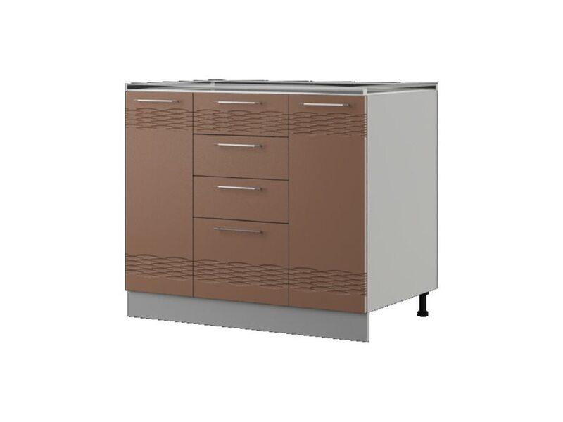 Шкаф напольный 100x82 см — кухня Мокко