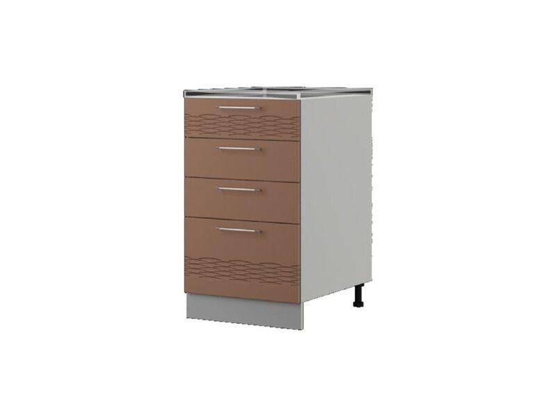 Шкаф напольный 50x82 см — кухня Мокко