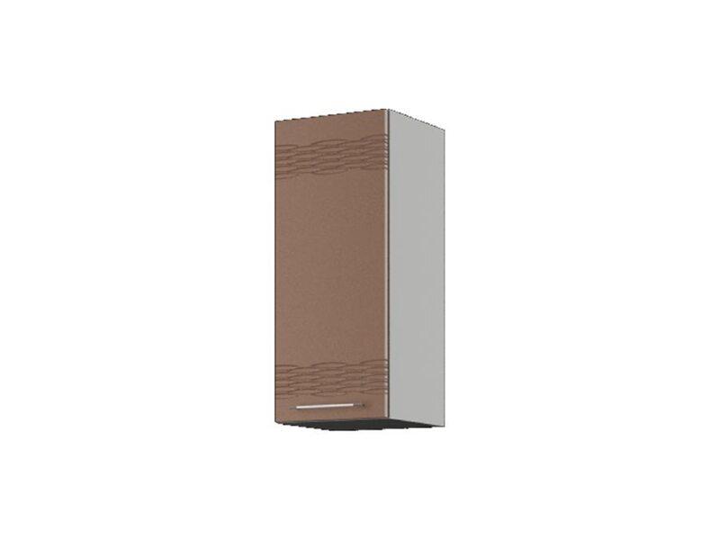 Шкаф навесной 30x71,5 см — кухня Мокко