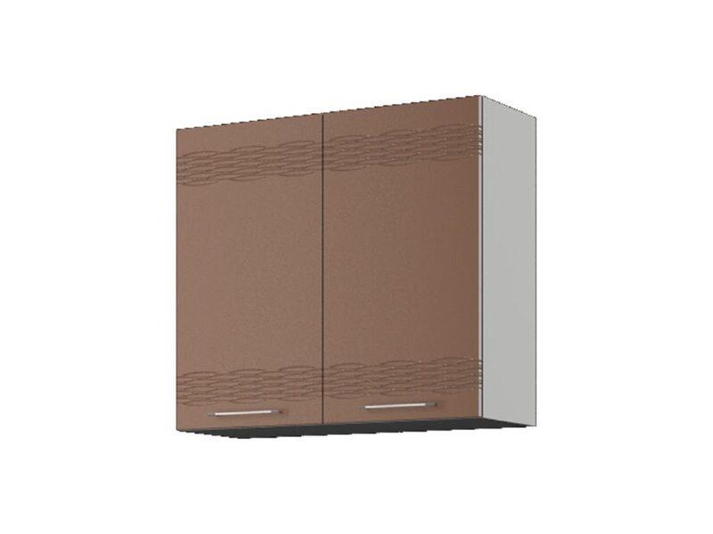 Шкаф навесной 80x71,5 см — кухня Мокко