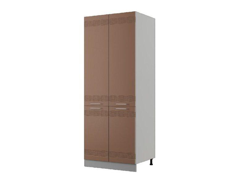 Пенал 80x20,75 см — кухня Мокко