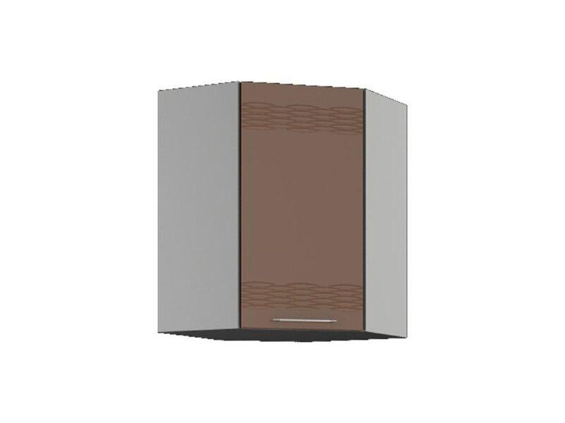 Шкаф навесной 55x71.5 см — кухня Мокко