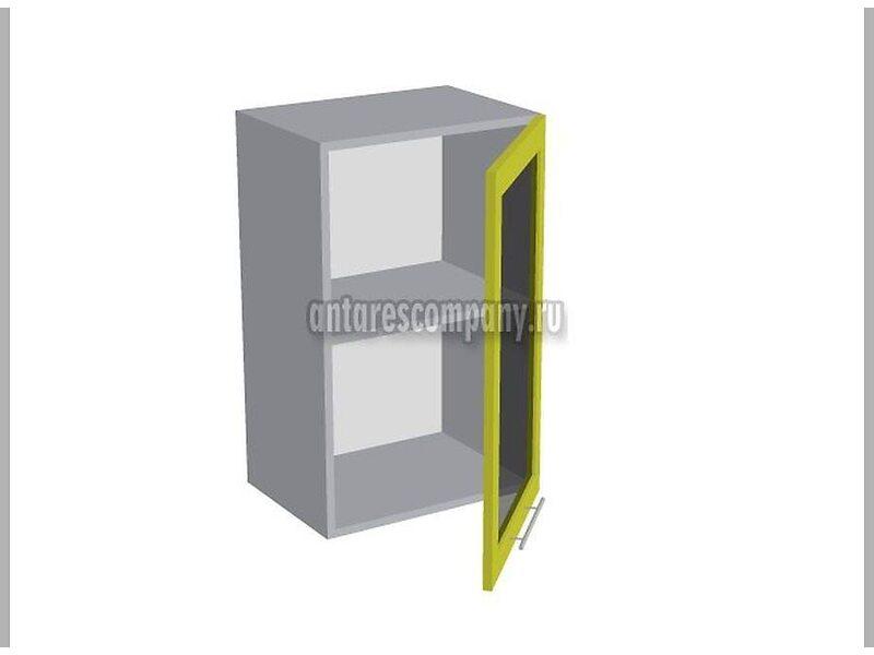 Шкаф навесной стекло 450 мм (Палермо)