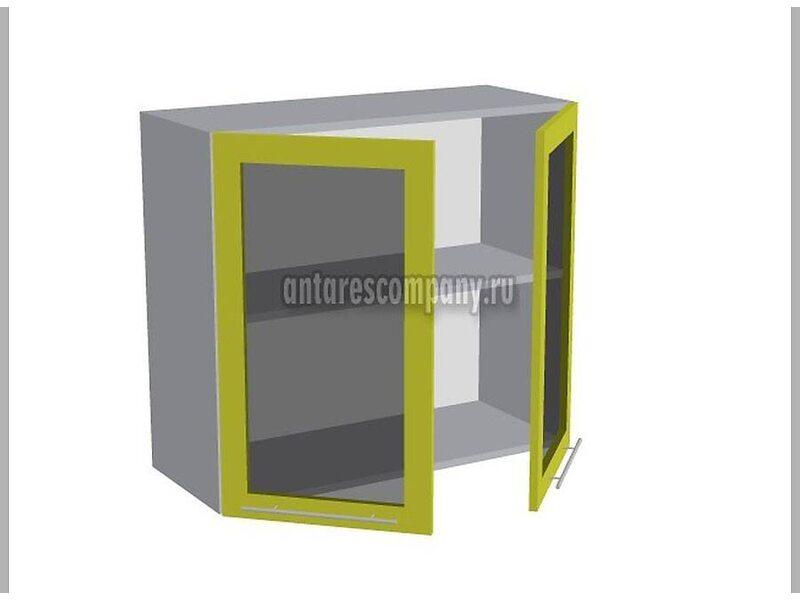 Шкаф навесной стекло 800 мм (Палермо)