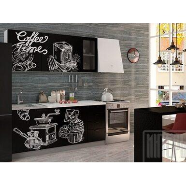 Кухня София 1,8 м (Coffee Time черный)