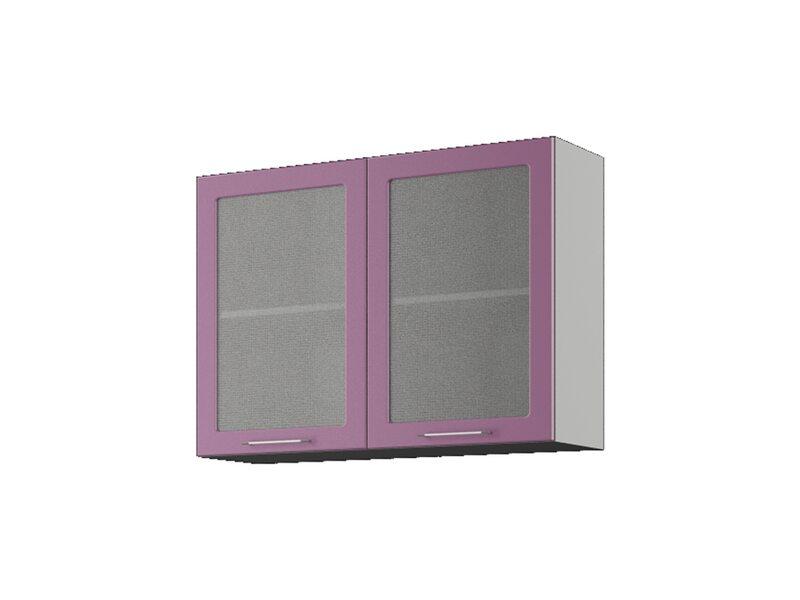 Навесной шкаф со стеклом на 1000 мм (София)