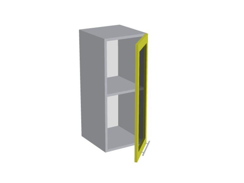 Навесной шкаф 300 мм (со стеклом)