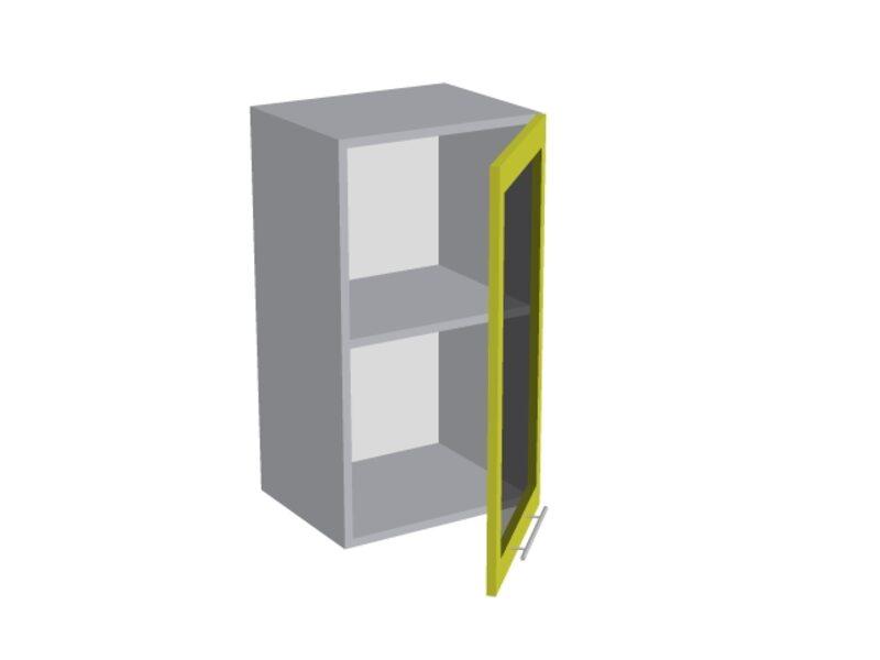 Навесной шкаф 400 мм (со стеклом)