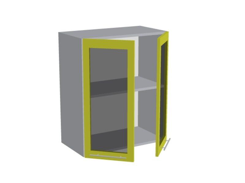 Навесной шкаф 600 мм (со стеклом)