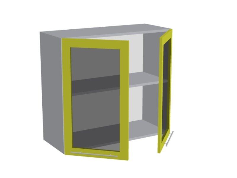 Навесной шкаф 800 мм (со стеклом)