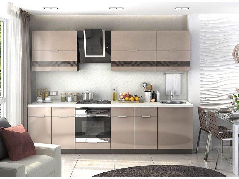 Кухня Терра gloss 2,7 метра