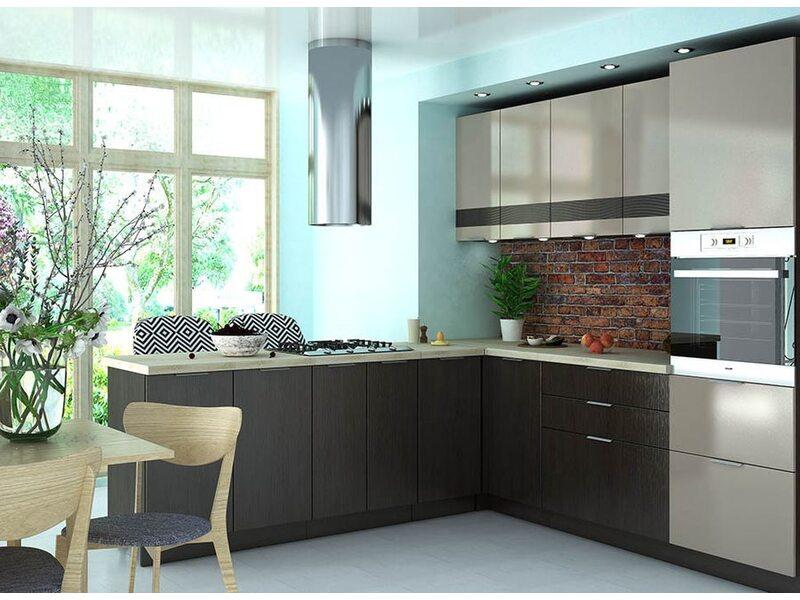 Кухня Терра gloss 2,4 метра