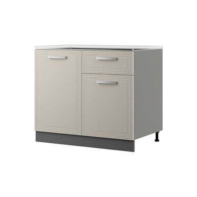 Шкаф напольный 100 см — кухня Виста