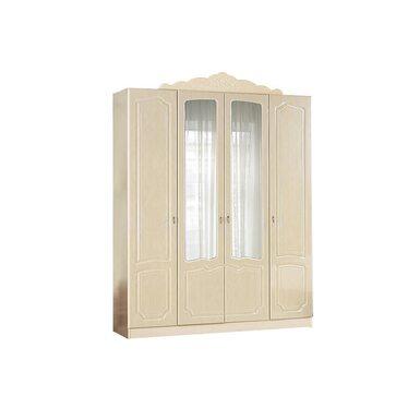 Шкаф 4-х створчатый распашной с 4 дверями 1800