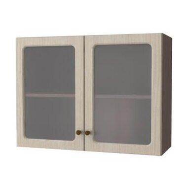 Навесной шкаф 800 (стекло) (Кухни Прага)