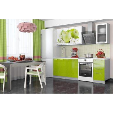 Кухня София 1,6 м (зеленое яблоко)