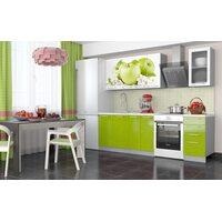 Кухня София 1,8 м (зеленое яблоко)