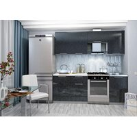 Кухня София 2.1 м (черная)