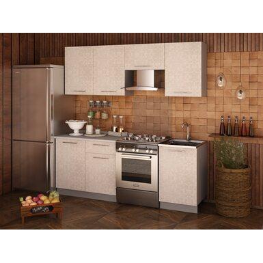 Кухня София 2.1 м (мозаика ваниль)
