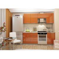 Кухня София 2.1 м (оранжевaя)