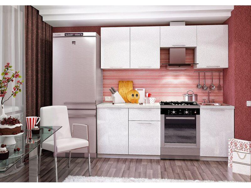 Кухня София 2.1 м (белая)