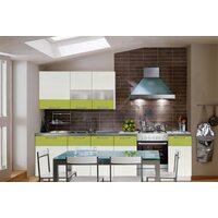 Кухня Линколор-4 (зеленый)