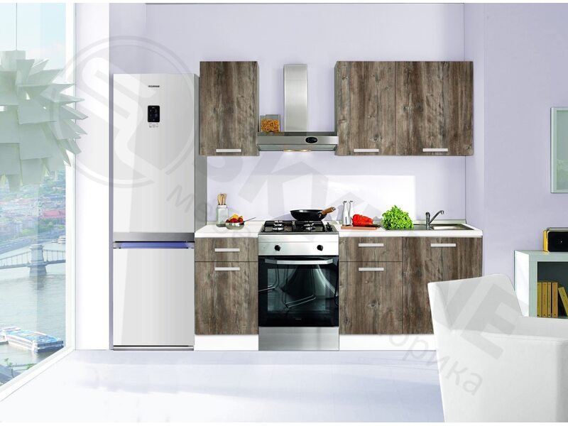 Кухня Базис Вудлайн-7