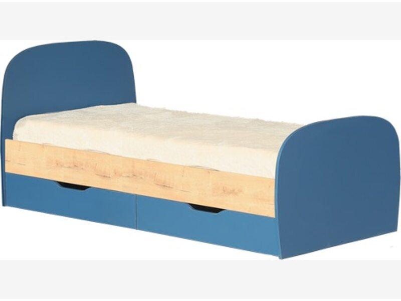Модуль № 12 Кровать 0,8 с ящиками