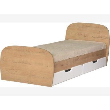 Модуль № 13  Кровать 0,8 с ящиками