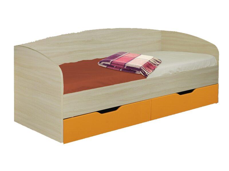 Кровать 0,8 с ящиками