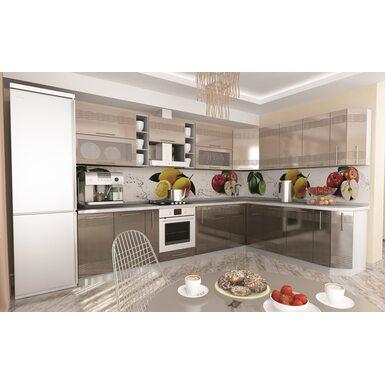 Кухня Мокко длина 3.2 метра, ширина 2.2 метра