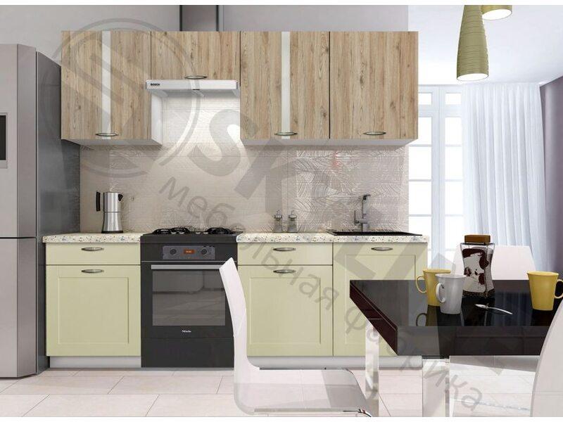 Кухня Базис Nicole-Mix длина 2.4 метра