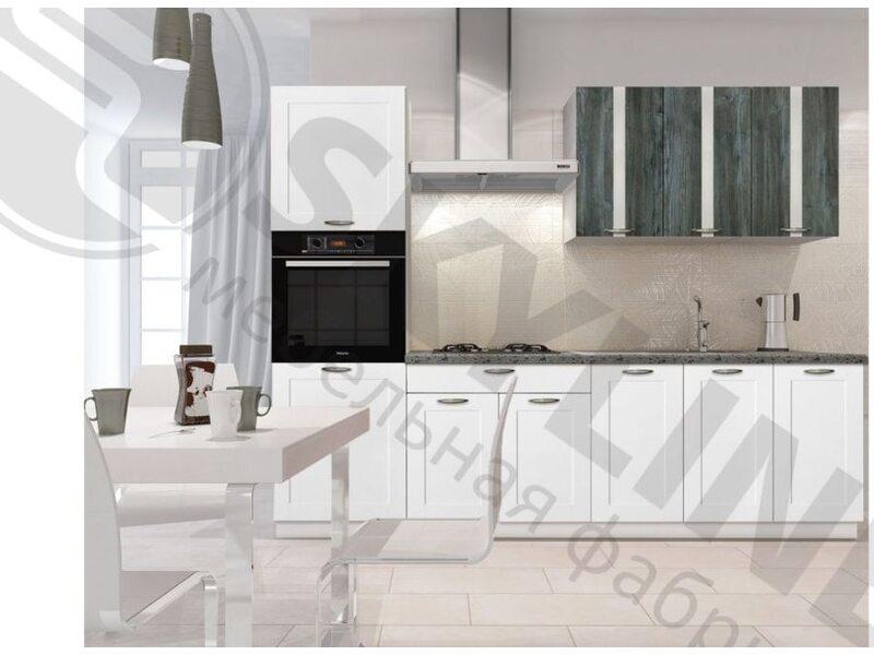 Кухня Базис Nicole-Mix длина 2.9 метра