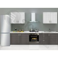 Кухня Базис Nicole-Wood длина 3.0 метра