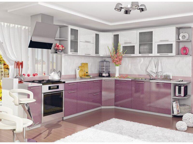 Кухня София длина 2.7 метра, ширина 2.6 метра
