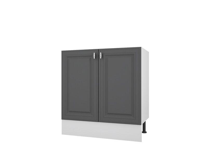 Мойка/Стол двухдверный кухня Ева ширина 800 мм высота 840 мм