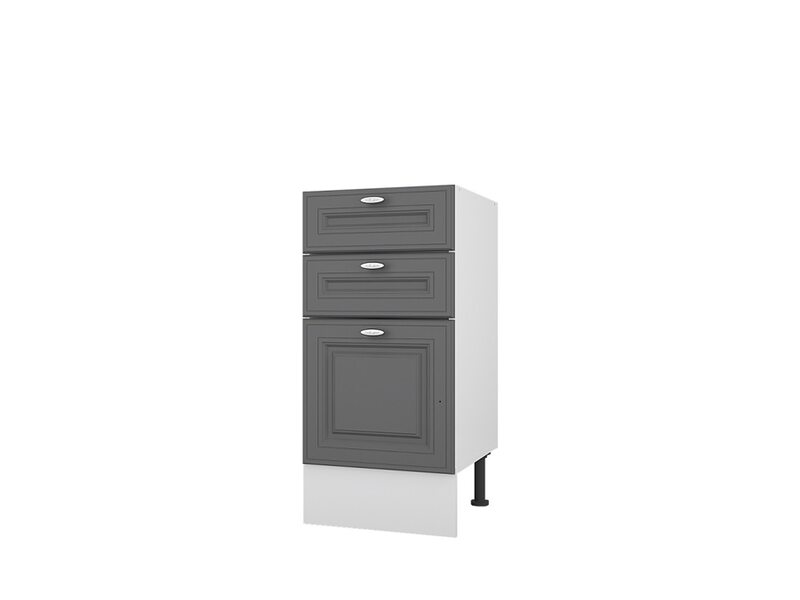 Стол 40 с 3-мя ящиками кухня Ева ширина 400 мм высота 840 мм