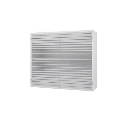 Навесной шкаф со стеклом на 800 мм