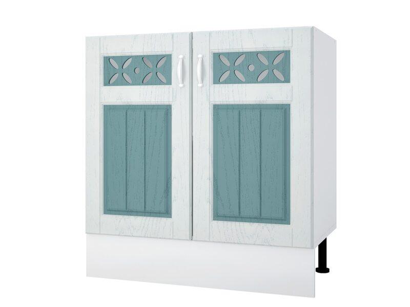 Мойка/Стол двухдверный кухня Камелия ширина 800 мм высота 840 мм