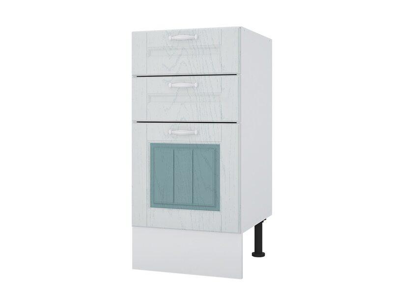 Стол 40 с 3-мя ящиками кухня Камелия ширина 400 мм высота 840 мм