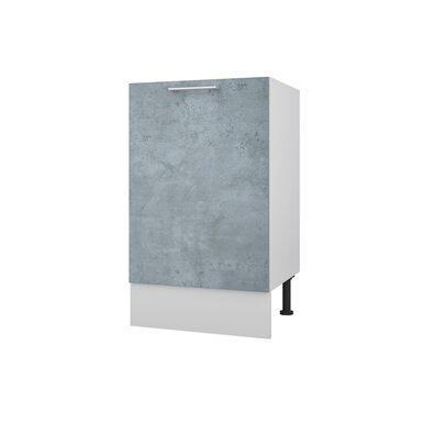 Мойка/Стол однодверный кухня Лофт ширина 500 мм высота 840 мм