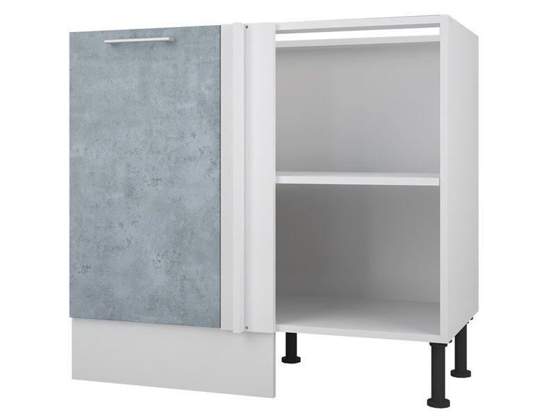 Стол угловой кухня Лофт ширина 1000 мм высота 840 мм